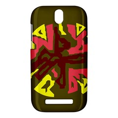 Abstract design HTC One SV Hardshell Case