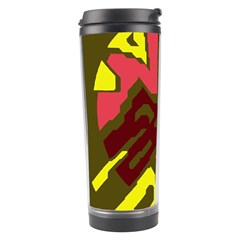 Abstract design Travel Tumbler