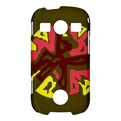 Abstract design Samsung Galaxy S7710 Xcover 2 Hardshell Case