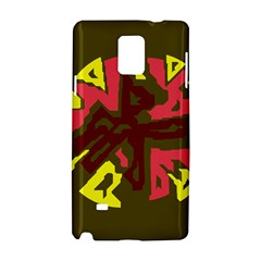 Abstract design Samsung Galaxy Note 4 Hardshell Case