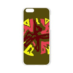 Abstract design Apple Seamless iPhone 6/6S Case (Transparent)
