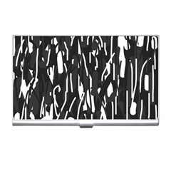 Black and white elegant pattern Business Card Holders