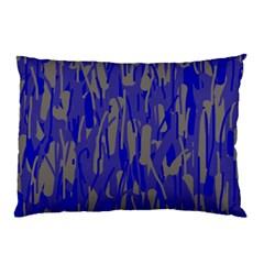 Plue decorative pattern  Pillow Case