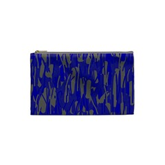 Plue decorative pattern  Cosmetic Bag (Small)