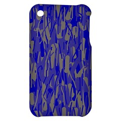 Plue decorative pattern  Apple iPhone 3G/3GS Hardshell Case