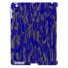 Plue decorative pattern  Apple iPad 3/4 Hardshell Case (Compatible with Smart Cover)