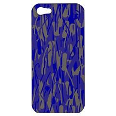 Plue decorative pattern  Apple iPhone 5 Hardshell Case