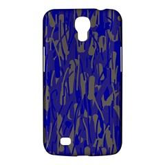 Plue decorative pattern  Samsung Galaxy Mega 6.3  I9200 Hardshell Case