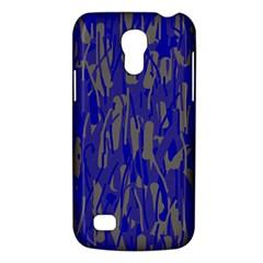 Plue decorative pattern  Galaxy S4 Mini