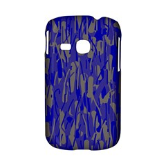 Plue decorative pattern  Samsung Galaxy S6310 Hardshell Case