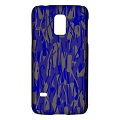 Plue decorative pattern  Galaxy S5 Mini