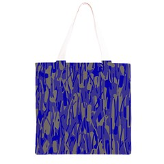 Plue decorative pattern  Grocery Light Tote Bag