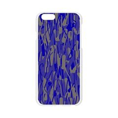Plue decorative pattern  Apple Seamless iPhone 6/6S Case (Transparent)