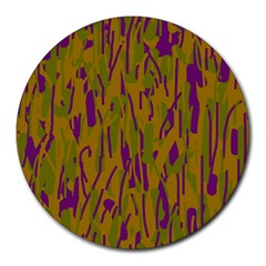 Decorative pattern  Round Mousepads