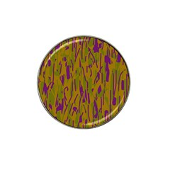 Decorative pattern  Hat Clip Ball Marker