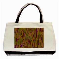 Decorative pattern  Basic Tote Bag (Two Sides)
