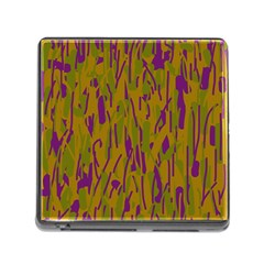 Decorative pattern  Memory Card Reader (Square)