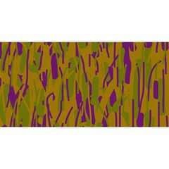 Decorative pattern  YOU ARE INVITED 3D Greeting Card (8x4)