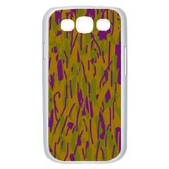 Decorative pattern  Samsung Galaxy S III Case (White)