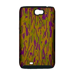 Decorative pattern  Samsung Galaxy Note 2 Hardshell Case (PC+Silicone)