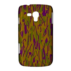 Decorative pattern  Samsung Galaxy Duos I8262 Hardshell Case