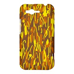 Yellow pattern HTC Rhyme