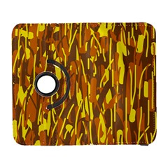 Yellow pattern Samsung Galaxy S  III Flip 360 Case