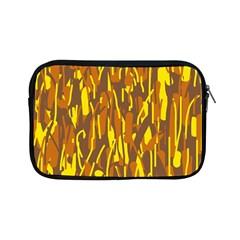 Yellow pattern Apple iPad Mini Zipper Cases