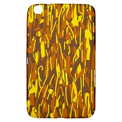 Yellow pattern Samsung Galaxy Tab 3 (8 ) T3100 Hardshell Case