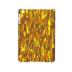 Yellow pattern iPad Mini 2 Hardshell Cases