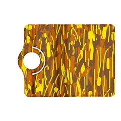 Yellow pattern Kindle Fire HD (2013) Flip 360 Case
