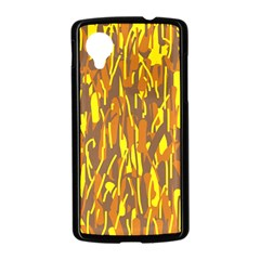 Yellow pattern Nexus 5 Case (Black)