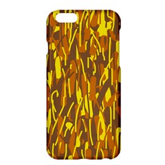 Yellow pattern Apple iPhone 6 Plus/6S Plus Hardshell Case