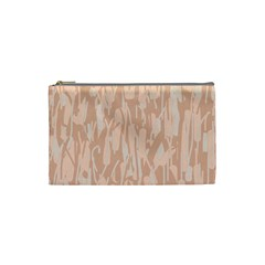 Pink pattern Cosmetic Bag (Small)