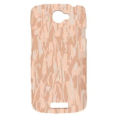 Pink pattern HTC One S Hardshell Case