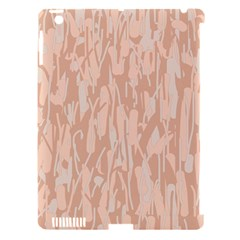 Pink pattern Apple iPad 3/4 Hardshell Case (Compatible with Smart Cover)