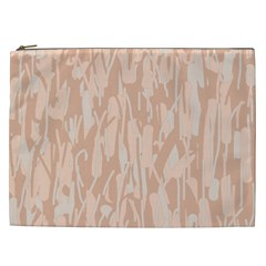 Pink pattern Cosmetic Bag (XXL)