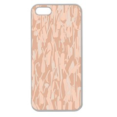 Pink pattern Apple Seamless iPhone 5 Case (Clear)