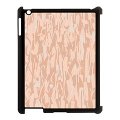 Pink pattern Apple iPad 3/4 Case (Black)
