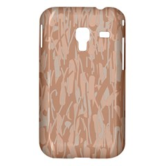 Pink pattern Samsung Galaxy Ace Plus S7500 Hardshell Case