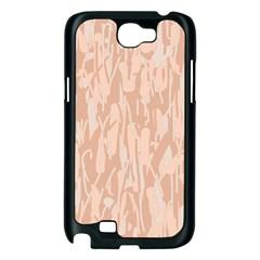Pink pattern Samsung Galaxy Note 2 Case (Black)