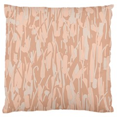 Pink pattern Large Flano Cushion Case (Two Sides)
