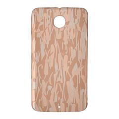 Pink pattern Nexus 6 Case (White)