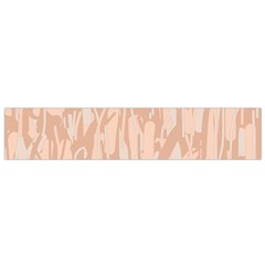 Pink pattern Flano Scarf (Small)
