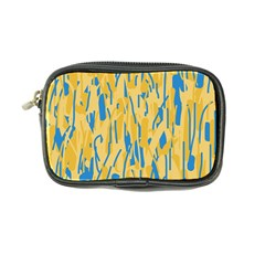 Yellow and blue pattern Coin Purse