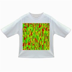 Green and red pattern Infant/Toddler T-Shirts
