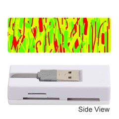 Green and red pattern Memory Card Reader (Stick)