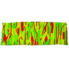 Green and red pattern Body Pillow Case Dakimakura (Two Sides)