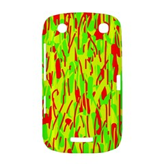 Green and red pattern BlackBerry Curve 9380