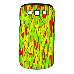 Green and red pattern Samsung Galaxy S III Classic Hardshell Case (PC+Silicone)
